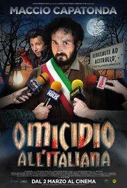 Locandina Omicidio all'italiana
