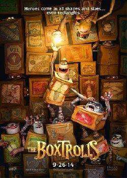 Locandina Boxtrolls – Le scatole magiche