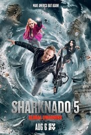 Locandina Sharknado 5: Global Swarming