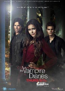 Locandina The vampire diaries – Il diario del vampiro Serie Tv