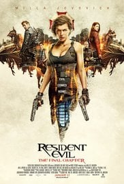 Locandina Resident Evil 6: The Final Chapter