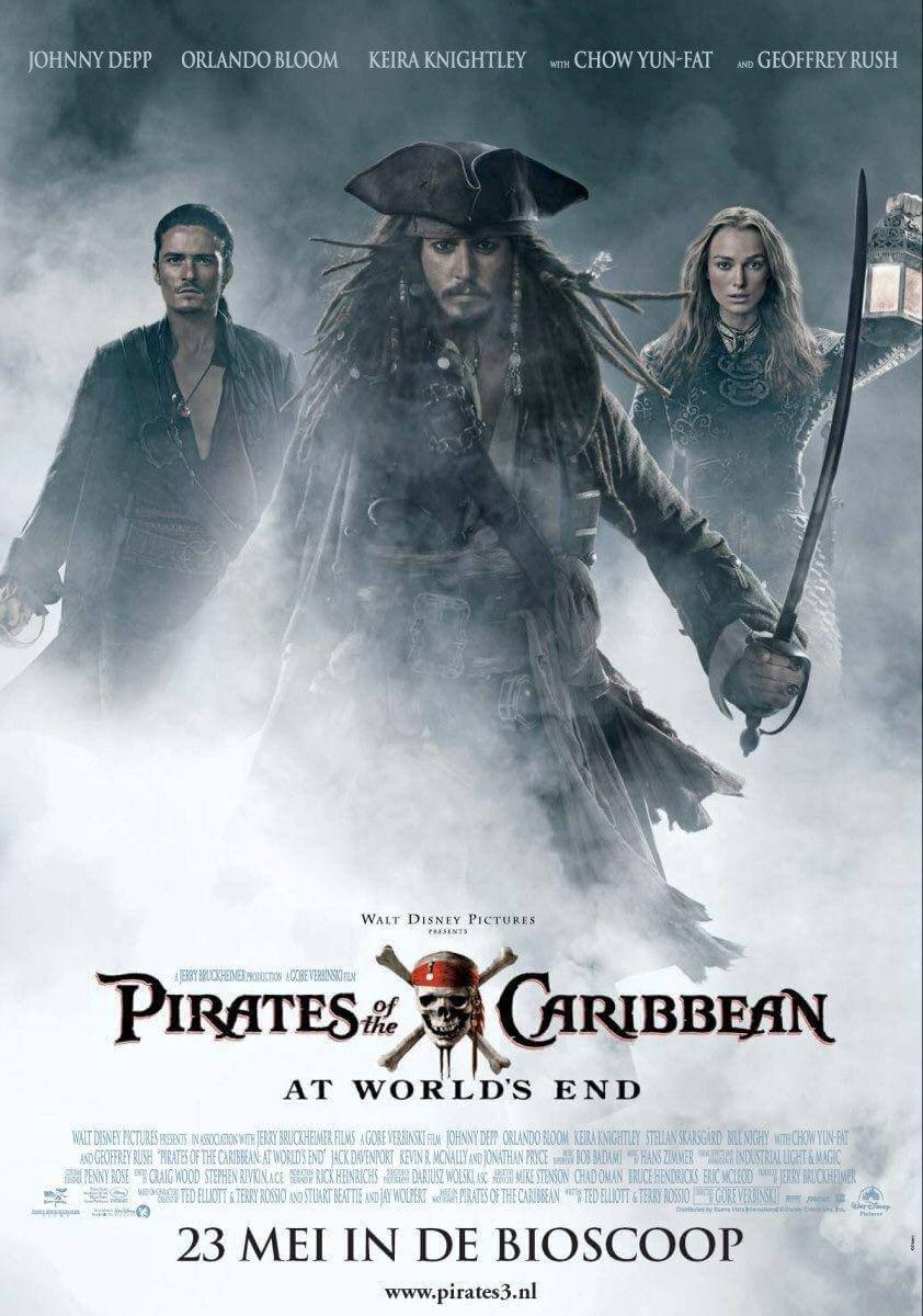 Locandina Pirati dei Caraibi: Ai confini del Mondo