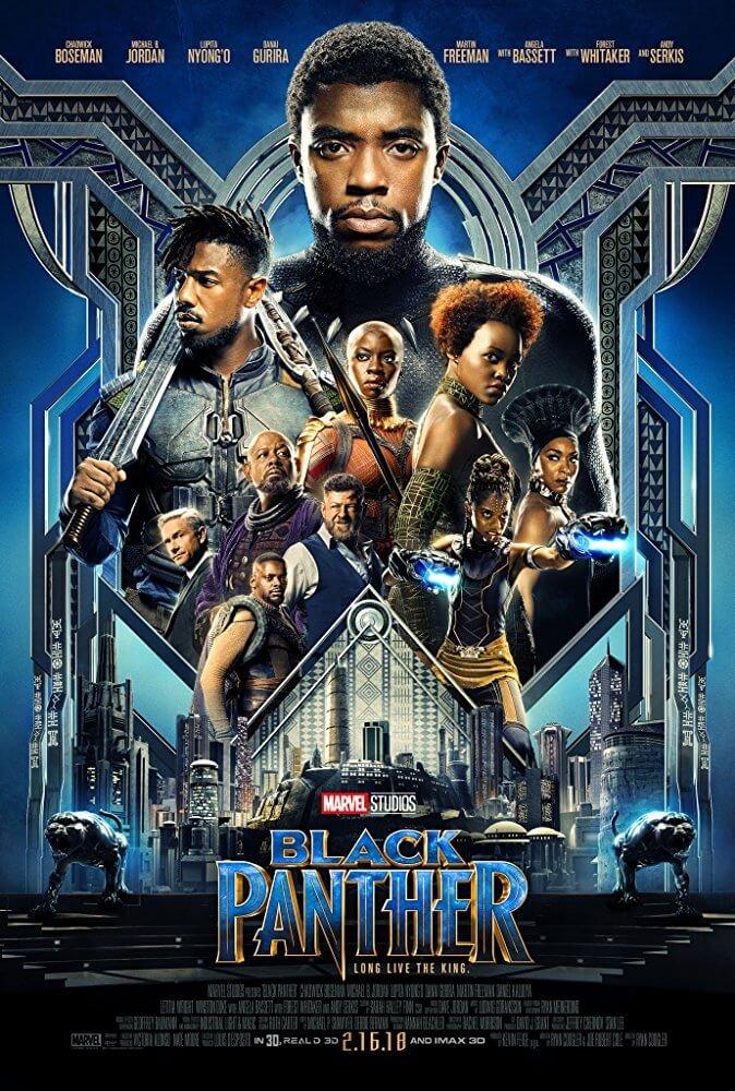 Locandina Black Panther