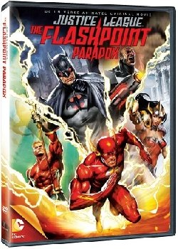 Locandina Justice League: Flashpoint Paradox
