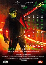Locandina Vasco: Tutto in una notte – Live Kom 015  Streaming