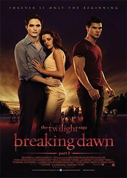 Locandina The Twilight Saga – Breaking Dawn Parte 1  Streaming