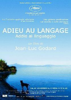 Locandina Adieu au langage – Addio al linguaggio  Streaming