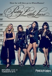 Locandina Pretty Little Liars  Streaming Serie TV