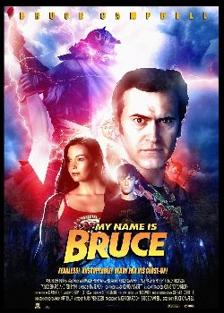 Locandina My Name Is Bruce