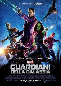 Locandina Guardiani della Galassia