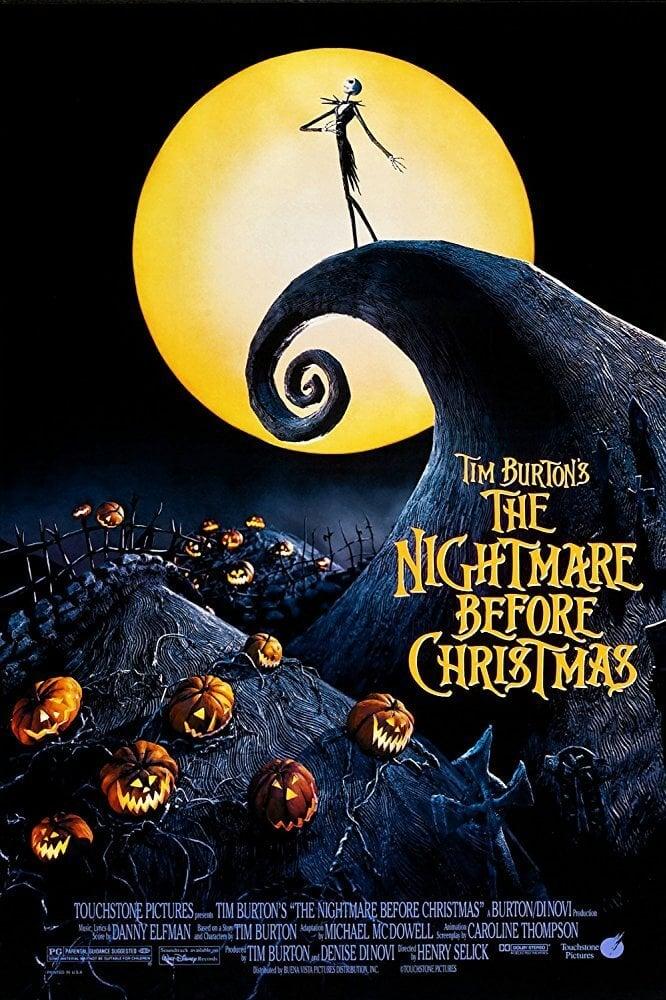Locandina Nightmare Before Christmas