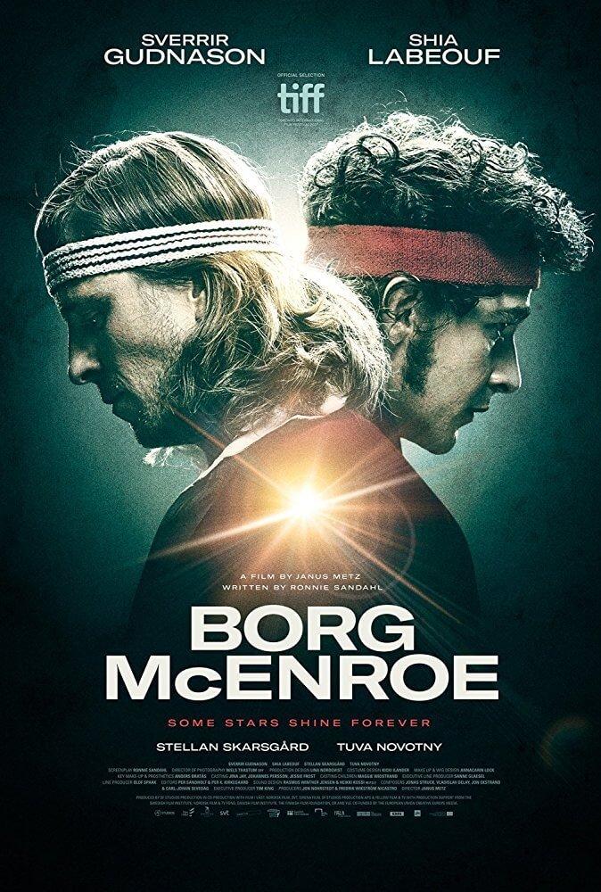 Locandina Borg McEnroe
