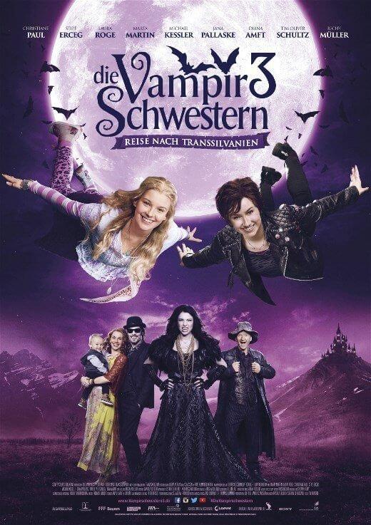 Locandina Sorelle Vampiro 3: Ritorno in Transilvania