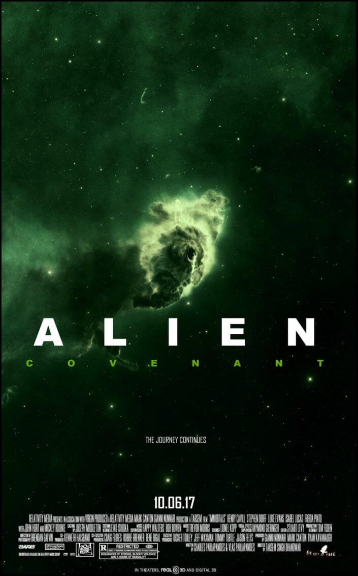 Locandina Alien: Covenant