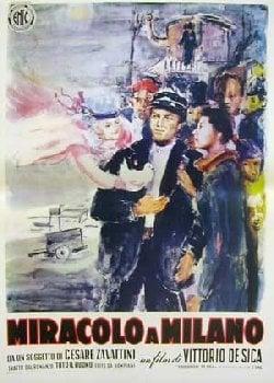 Locandina Miracolo a Milano