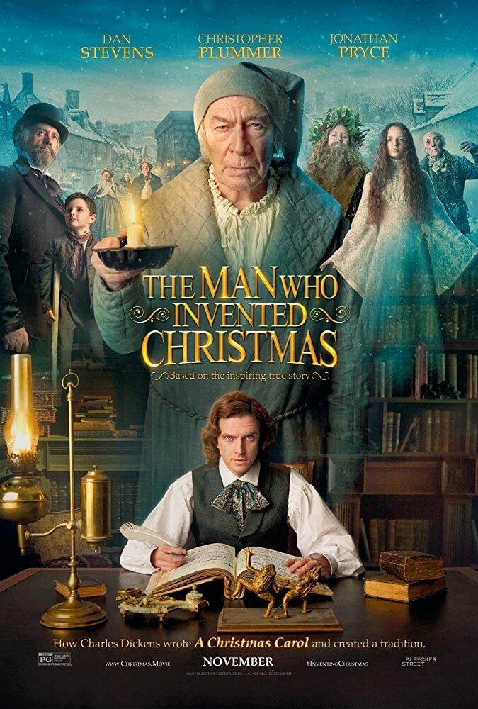 Locandina Dickens: L'uomo Che Inventò il Natale