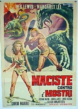 Locandina Maciste contro i mostri