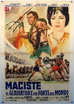Locandina Maciste, il gladiatore più forte del mondo