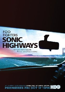 Locandina Foo Fighters Sonic Highways