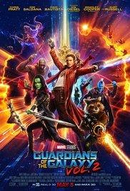 Locandina Guardiani della Galassia Vol. 2