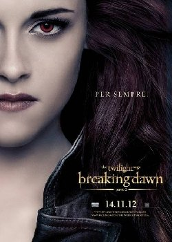 Locandina The Twilight Saga – Breaking Dawn – Parte 2