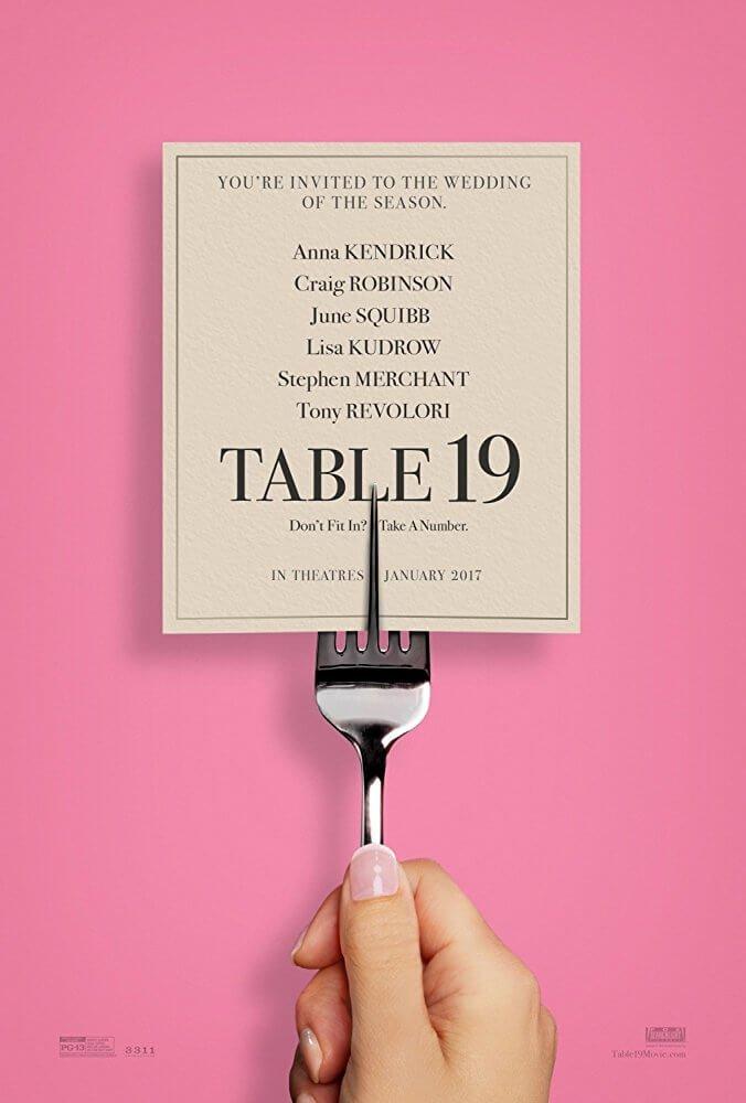 Locandina Tavolo 19