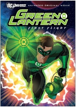 Locandina Green Lantern First Flight