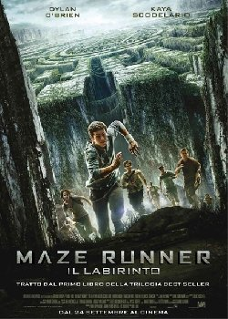 Locandina Maze Runner – Il labirinto