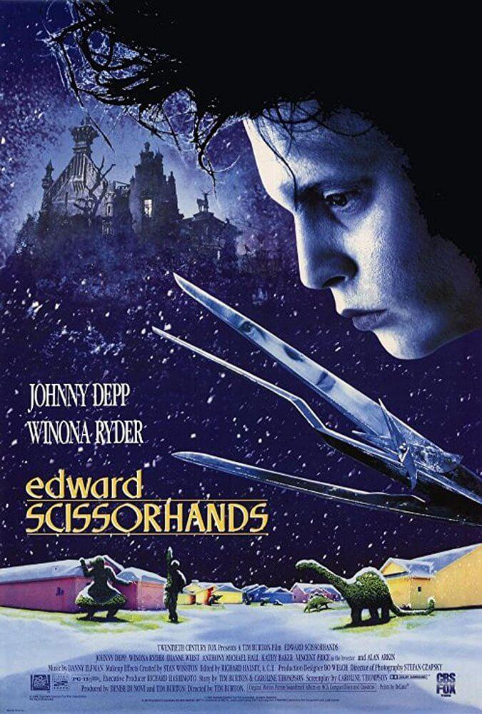 Locandina Edward mani di forbice