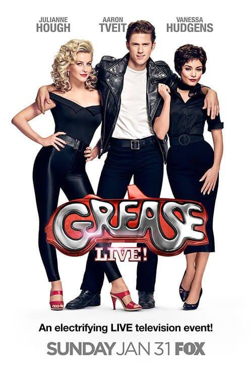 Locandina Grease: Live!