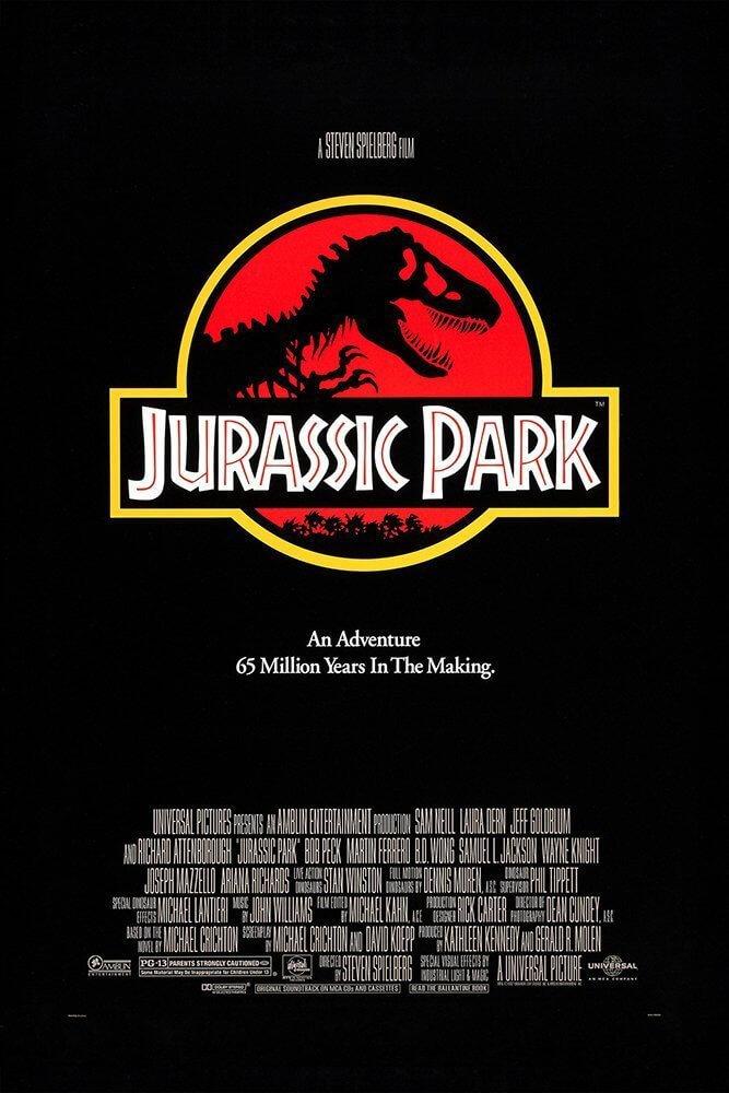 Locandina Jurassic Park