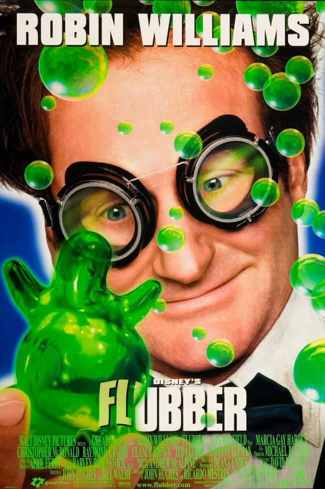 Locandina Flubber: Un professore tra le nuvole