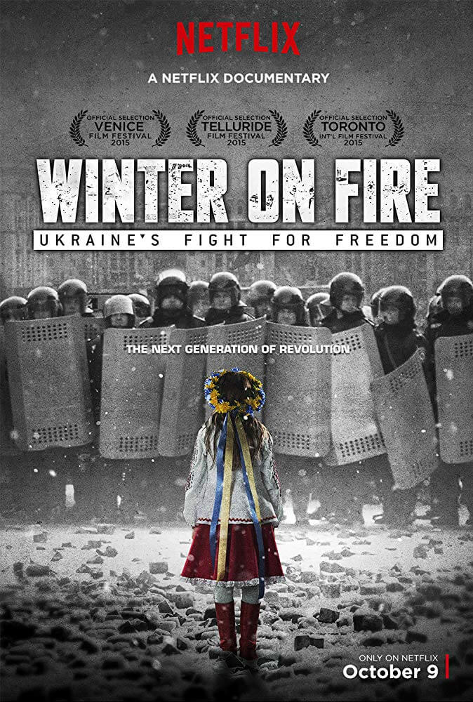 Locandina Winter on Fire: Ukraine's Fight for Freedom