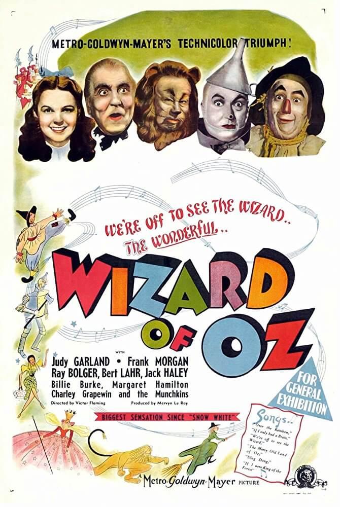 Locandina Il Mago Di Oz
