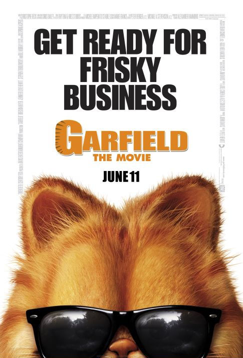 Locandina Garfield: Il film