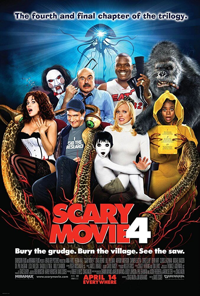 Locandina Scary Movie 4