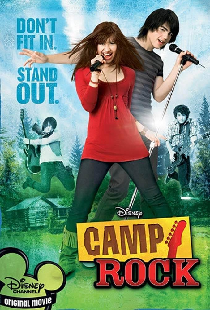Locandina Camp Rock