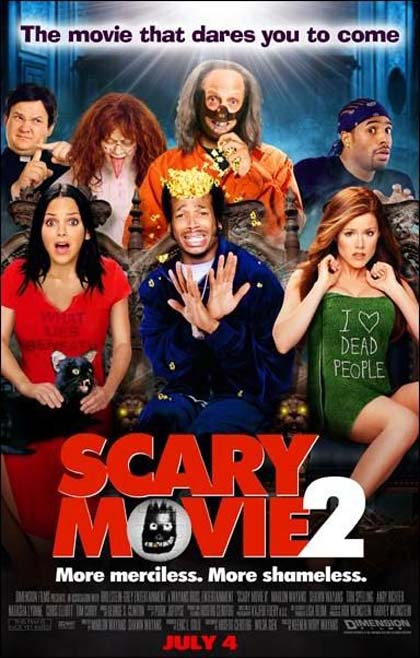 Locandina Scary Movie 2