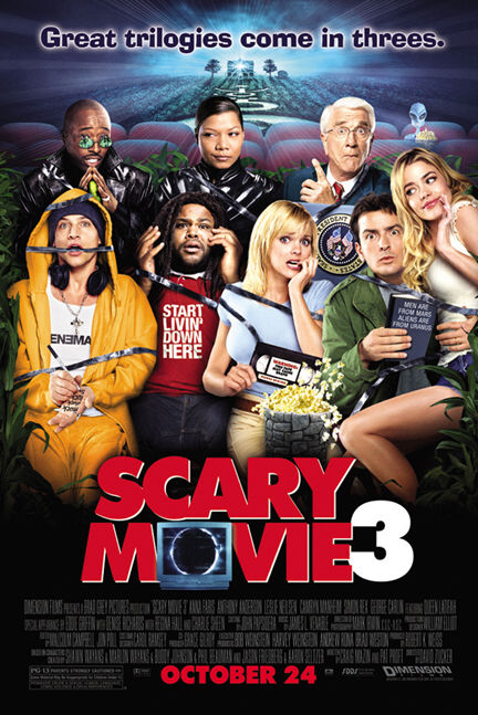 Locandina Scary Movie 3: Una risata vi seppellirà