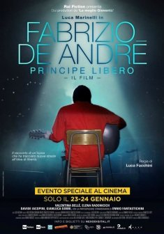 Locandina Fabrizio De André: Principe libero