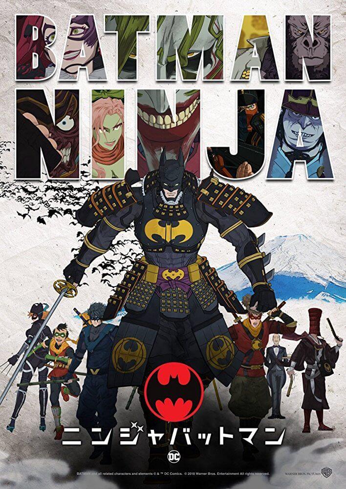 Locandina Batman Ninja