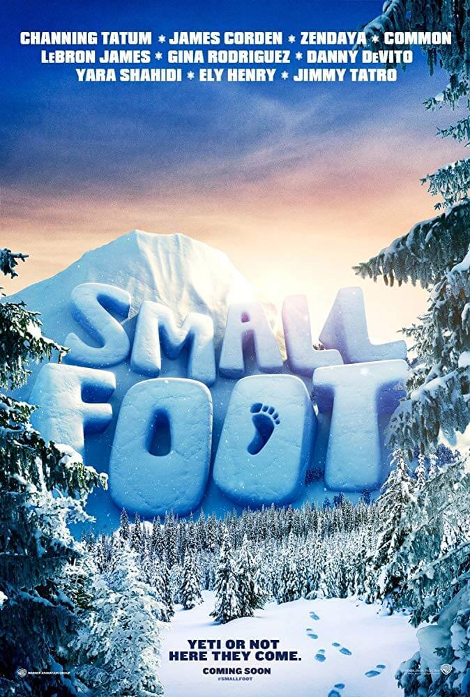 Locandina Smallfoot Il Mio Amico Delle Nevi