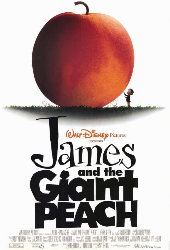 Locandina James e la pesca gigante