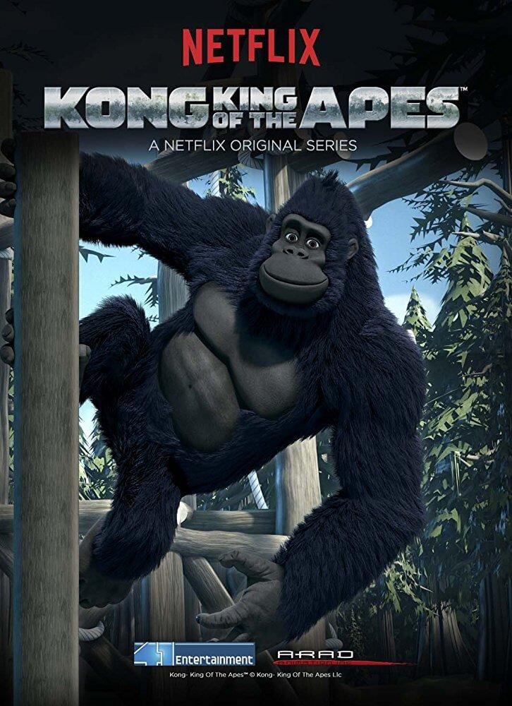 Locandina Kong Re dei Primati