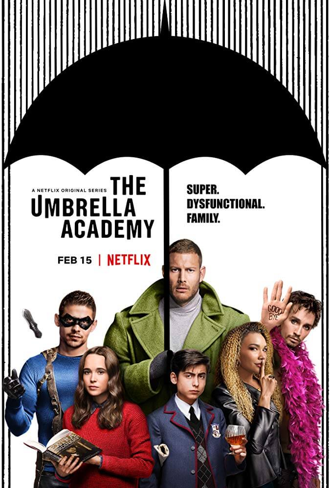 Locandina The Umbrella Academy