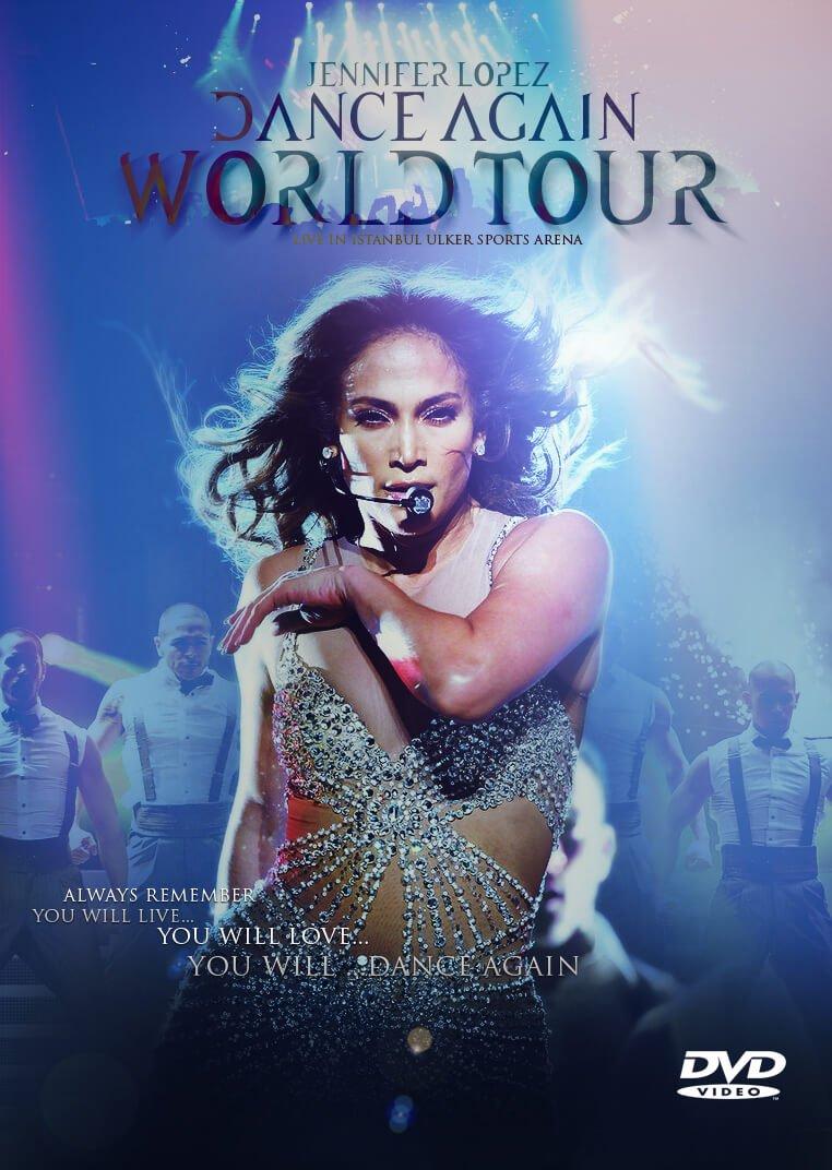 Locandina Jennifer Lopez Dance Again
