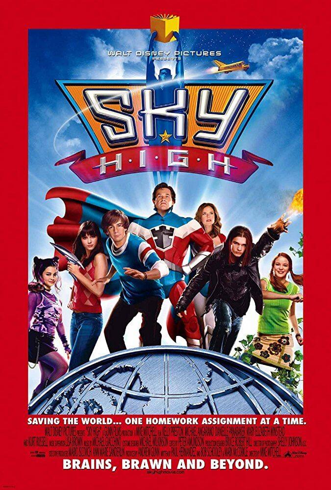 Locandina Sky High: Scuola di superpoteri