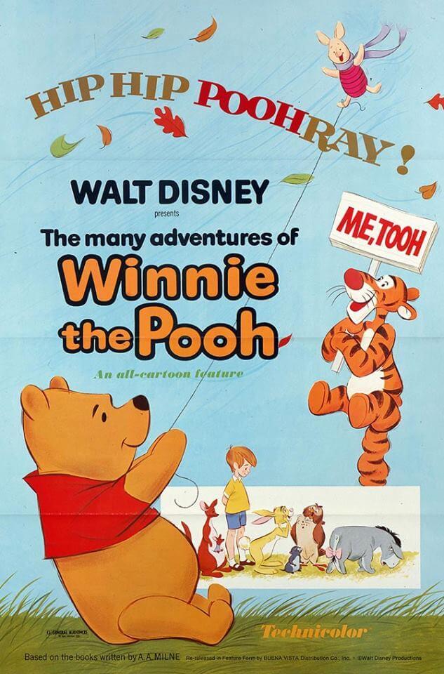 Locandina Le avventure di Winnie the Pooh