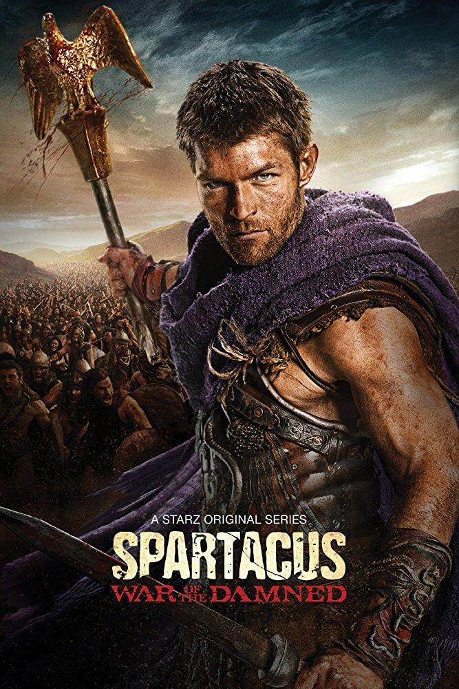 Locandina Spartacus: La Guerra Dei Dannati