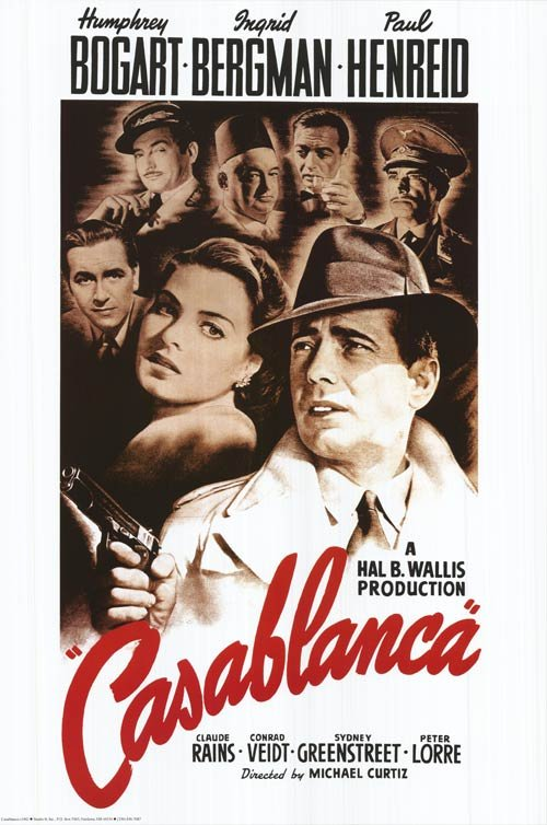 Locandina Casablanca